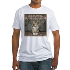 Ancient Cat Fitted T-Shirt