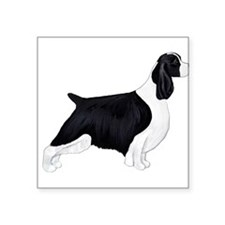 "English Springer Spaniel Square Sticker 3"" x 3"""