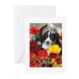 Bernese mountain dog christmas cards Greeting Cards (20 Pack)