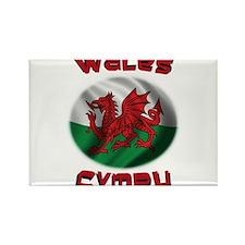 Wales Cymru Rectangle Magnet