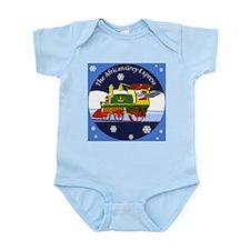 African Grey Express Infant Bodysuit