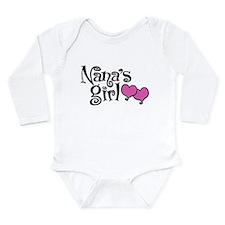 Nana's Girl Long Sleeve Infant Bodysuit