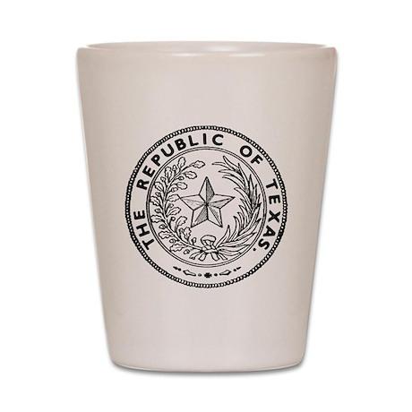 Secede Republic of Texas Shot Glass