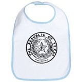 Secede Republic of Texas Bib