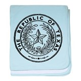 Secede Republic of Texas baby blanket