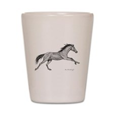 Thoroughbred ~ Shot Glass