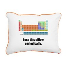 The Periodic Rectangular Canvas Pillow
