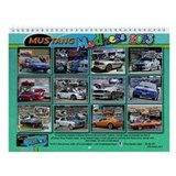 2013 Mustang MADNESS Wall Calendar