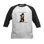 Dancing Cat Kids Baseball Jersey