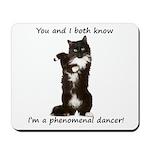 Dancing Cat Mousepad