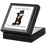 Dancing Cat Keepsake Box
