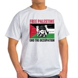 free palestine WHT T-Shirt