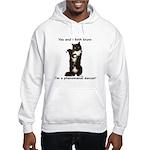 Dancing Cat Hooded Sweatshirt
