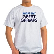 """WORLD'S BEST GREAT GRAMPS"" T-Shirt"