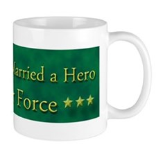 My Daughter Married A Hero Air Force Mug