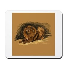 Chow Chow Pastel Sketch Mousepad