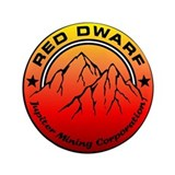 "Red Dwarf 3.5"" Button"