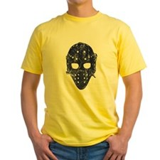 Vintage Hockey Goalie Mask (dark) T