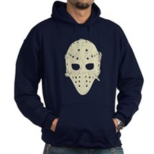 Vintage Hockey Goalie Mask (dark) Hoody