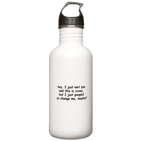 change me, maybe? Stainless Water Bottle 1.0L