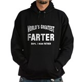 World's Greatest Farter Father Hoodie