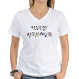 Christmas Womens V-Neck T-shirts
