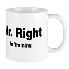 Mr Right In Training Mug