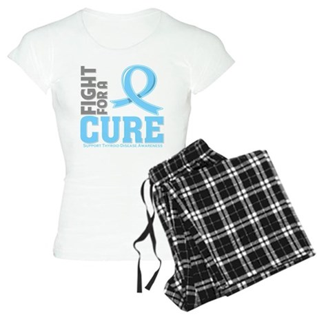 Thyroid Disease Fight For A Cure Women's Light Paj