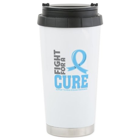 Thyroid Disease Fight For A Cure Ceramic Travel Mu