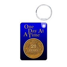 19-Year Chip Keychains