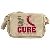 Throat Cancer Fight For A Cure Messenger Bag