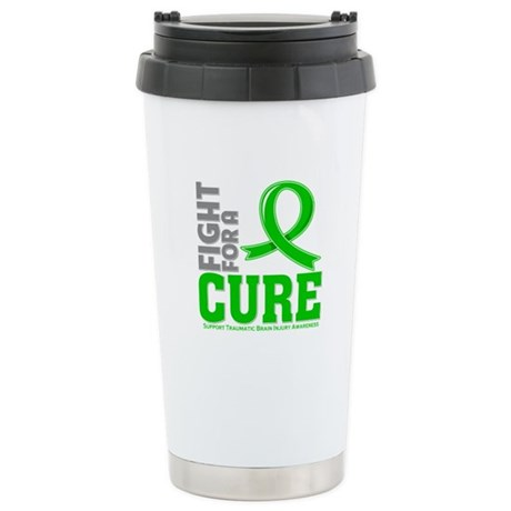 TBI Fight For A Cure Shirts Ceramic Travel Mug