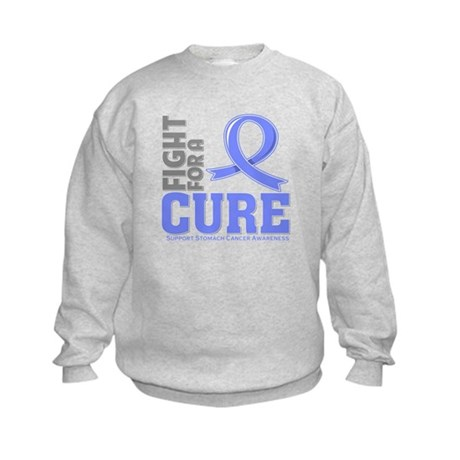 Stomach Cancer Fight For A Cure Kids Sweatshirt