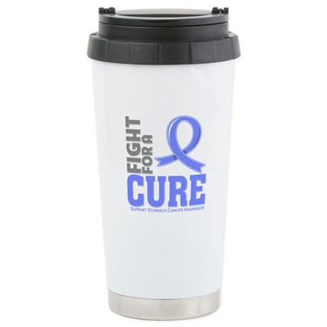 Stomach Cancer Fight For A Cure Ceramic Travel Mug