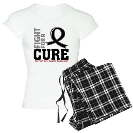 Skin Cancer Fight For A Cure Women's Light Pajamas