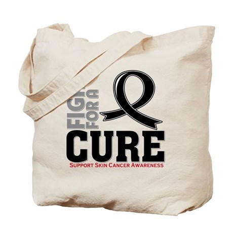 Skin Cancer Fight For A Cure Tote Bag
