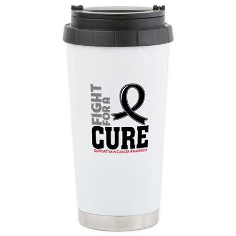 Skin Cancer Fight For A Cure Ceramic Travel Mug
