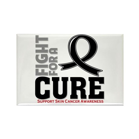 Skin Cancer Fight For A Cure Rectangle Magnet