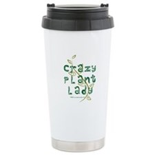 Crazy Plant Lady Ceramic Travel Mug