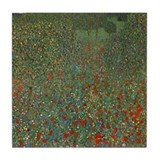 Cool Painting of poppies Tile Coaster