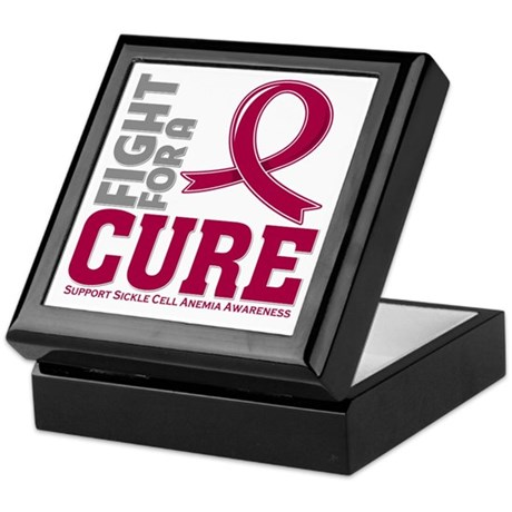 Sickle Cell Anemia Fight Keepsake Box