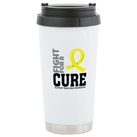 Sarcoma Fight For A Cure Ceramic Travel Mug