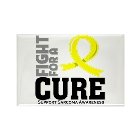 Sarcoma Fight For A Cure Rectangle Magnet