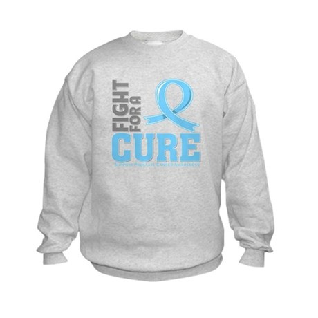 Prostate Cancer Fight For A Cure Kids Sweatshirt