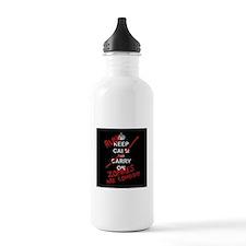 run zombies Sports Water Bottle