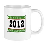 My First 1/2 Marathon Bib - 2012 Mug