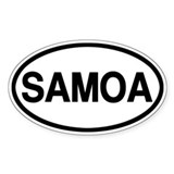 Samoa Decal