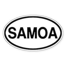 Samoa Decal