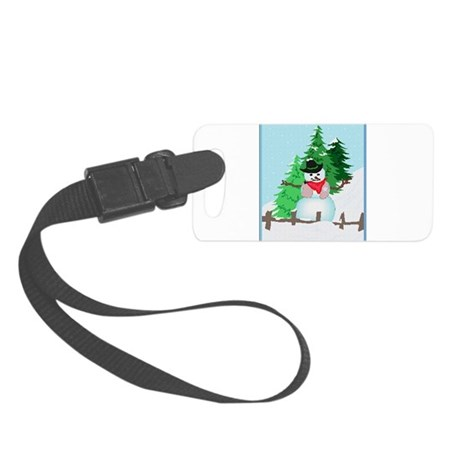 snow9.PNG Small Luggage Tag