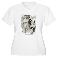 1907 Reception Gowns- Plus Size V-Neck T-Shirt